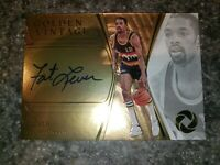 2019-20 Panini Opulence Golden Vintage Fat Lever On Card Auto /25 Denver Nuggets