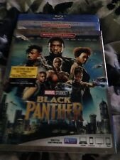 Black Panther Blu Ray + Digital hd 2018 With Slipcover