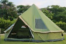 Tent Bell Yurt Camping Safari Waterproof Oxford Canvas 4M 10 Person