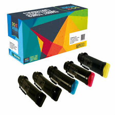 5-Pack Toner Set for Dell H625cdw H825cdw S2825cdn H625 H825 S2825 593-BBOW