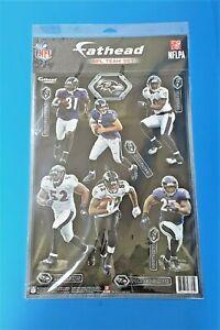 RARE 2012 FATHEAD NFL TEAM SET BALTIMORE RAVENS - SUPER BOWL CHAMPS - RAY LEWIS