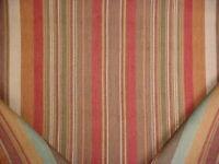 2-7/8Y Ralph Lauren LCF66780F Santa Ysabel Stripe Clay Upholstery Fabric