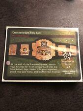 WWF/WWE Raw Deal Cruiserweight Title Belt 11/TR slightly used