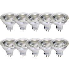10x LED cristal Bombilla Reflector GU5, 3 5w= 35w Blanco Cálido 2700k 38°