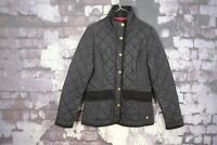 Joules Blue Quilted Jacket size Uk 8 No.W152 01/2