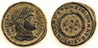Imperio Romano-Constantino I. Follis 320-321 d.C. Siscia (Croacia) Cobre 2,6 g.