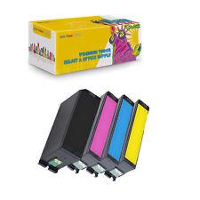 (Set) Compatible 331-7689 - 331-7692 Ink Cartridge For Dell 31 32 33 34 V525w