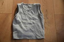 Lana Bio Schurwolle Unterhemd für Jungs und Mädels, ca. 92-104