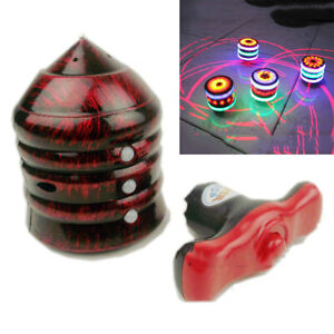 Spinning Top Gyro Spinner Laser LED Music Flashing Light Kids Toys Gifts Newk