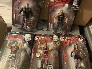AUTOGRAPHED ECW FIGURE SERIES COLLECTION