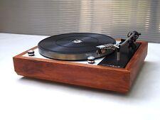 THORENS TD-150 ( MK-1 / MK-2 ) MAHOGANY wood PLINTH / LINN LP-12 STYLE PLINTH