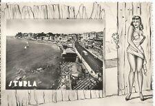 160772 GENOVA CITTÀ - STURLA Cartolina FOTOGRAFICA 1961