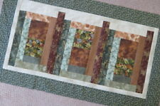 """Unfinished Quilt Top - Table Runner - Wall Hanging - FALL - AUTUMN - 38"""" X 21"""""""
