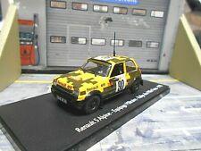 RENAULT 5 Alpine Rallye Mille 1000 Pistes France 1978 #90 Sonderpreis 1:43