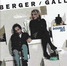 BERGER - GALL : DOUBLE JEU / CD - TOP-ZUSTAND