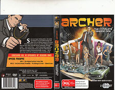 Archer-2009-Animated TV Series USA-Complete Season One-[2 Disc]-DVD