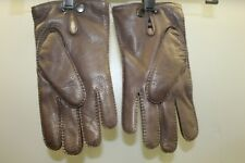 Theory Men's Grevor Classic Nappa Leather Gloves Brown NWT
