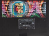 House Music Club, La Luna, Play This House, Rock Express - 1996 cassette tape