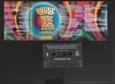 House Music Club, compilation, various - 1996 cassette tape + CD-R backup