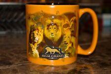 Vintage Las Vegas MGM Grand Lion Souvenir Large Coffee Mug Cup