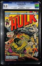 Incredible Hulk #180 CGC 9.0 1st appearance of Wolverine in cameo last page