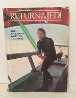 Star Wars Return Of The Jedi Story Book Based On The Movie Luke Skywalker