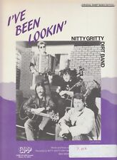 I've Been Lookin' - Nitty Gritty Dirt Band - 1988 US Sheet Music