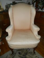 Hendredon wingback chair