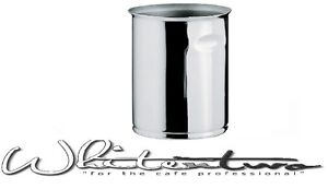 Ilsa Stainless Steel Cafe Spoon/Wooden Stirrer Holder