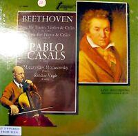 CASALS/HORSZOWSKY/VEGH piano BEETHOVEN LP RARE USA NM+