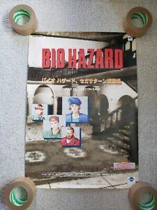 Biohazard Resident Evil Sega Saturn 1997 Promo B2 Poster