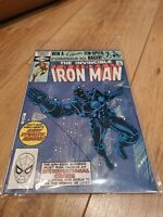 The Invincible Iron Man 152 1st app stealth armour Marvel Comic book 1st print