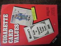 Cigarette Cards Value Catalogue 1990 Murray Cards  Book
