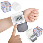 Automatic Digital LCD Wrist Blood Pressure Monitor Heart Beat Pulse Monitor