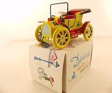 Dubena dědeček auto-mobil Tchécoslovaquie tôle moteur 14 cm tin toy neuf mint