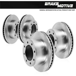 For 2008 2009 2010 2011 2012 Dodge Ram 4500 5500 Front and Rear Brake Rotors