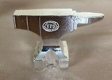 10 oz 999 Fine Silver Bar - Yeager's Poured Silver - YPS - Anvil