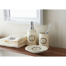Salle de Bain Bathroom Set 3pc - Cream