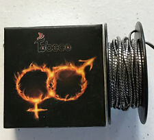 TOBECCO JUGGERNAUT COIL 10FT SPOOL DUAL CLAPTON COIL PARALLED WITH FLAT RIBON