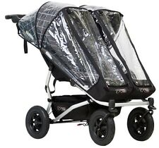 Mountain Buggy 2017 Duet Storm and Rain Cover for 2017 Duet Strollers New!