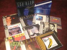 LOU REED BLUE MASK 9 JAPAN OBI REPLICA CD SET  + MFSL 2 KARAT VELVET UNDERGROUND