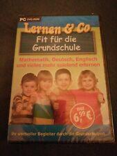 PC DVD-Rom Lernen & Co Fit für die Grundschule Lernspiel NEU!!!