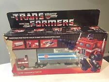 1984 Transformers G1 OPTIMUS PRIME Original Box with Parts Vintage
