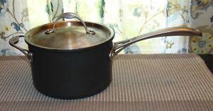 CALPHALON Used 4 1/2 QUART Sauce Pan GOOD CONDITION!