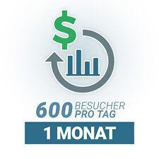 🚀 Täglich 🚀 600 Deutsche Webseiten Besucher für 1 Monat I Echte Besucher SEO