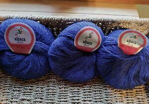 Mega Yarn Sale  PERUVIAN Alpaca Yarn 3 balls@$9.50/per ball