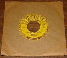 "EDWIN BRUCE ~ ROCK BOPPIN BABY b/w MORE THAN YESTERDAY ~ORIGINAL USA SUN 7"" 1957"