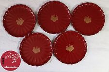 Japonais ASSIETTES Plates Traditional Japanese OKASHI SET MADE IN JAPAN TOYOTOMI