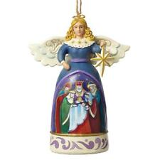 Heartwood Creek Jim Shore 4051495 Mini Nativity Angel Hanging Ornament