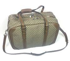 Authentic New ($2990) Gucci Diamanté Plus Large Weekender Travel Bag,#267905,NWT